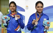 Mehuli wins silver in 10m air rifle, bronze for Chandela