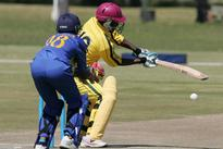 Lady Cricket Cranes win, but a little too late