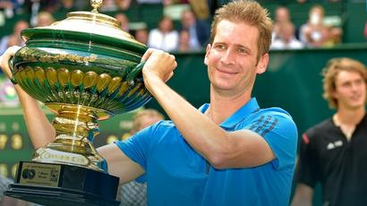Halle Open: Mayer puts injury struggles behind him to win title