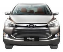 Toyota Launches Petrol Variant of All-New Innova Crysta