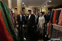 President Xi visits historical city Bukhara