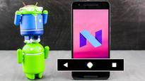 Android N could come with another nav bar redesign