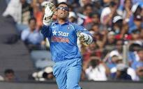 MS Dhoni may no longer be India captain but he's still a leader