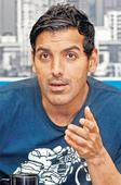 Mind your language John Abraham tells Delhi on Womens Day