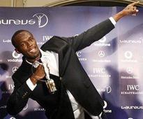 Usain Bolt wins Laureus Sportsman of the Year award