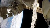 Nasa's Peggy Whitson and Jack Fischer conduct 200th spacewalk at ISS
