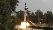 Indigenously built Agni 5 missile successfully test-fired