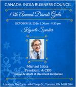 Canada-India Business Council: 13th Annual Diwali Gala in Toronto