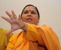 Uma Bharti meets Akhilesh, discusses Ganga clean-up plan