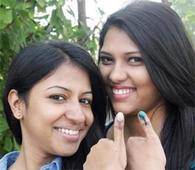 Women pip male voters in 6 seats