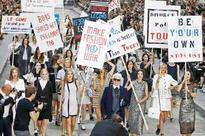 Karl Lagerfeld fuses feminism and fashion