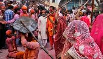 Colours of Freedom: Vrindavan widows play Holi