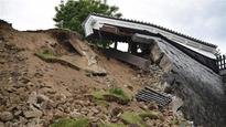 Japan opens prison to quake victims