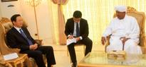 Al Bashir Pledges to Enhance Cooperation Relations between Khartoum and Beijing