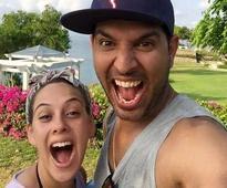 Yuvraj Singh confirms engagement to Hazel Keech