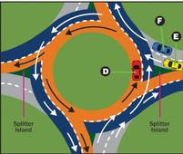 Rise of the roundabout: 'Don't be alarmed. It's just another piece of road'