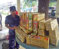 Police seize firecrackers as Tihar is around the corner