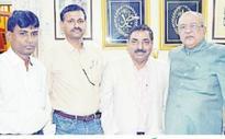 OU Centenary Celebrations Committee officials meet Zahid Ali Khan