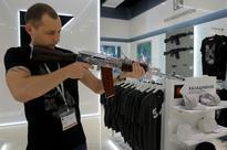 Kalashnikov Shop at Moscow airport Sells AK-47 Models