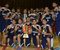 India Lift South Asian Basketball Trophy for Second Consecutive Time