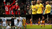 FA Cup wrap: Watford, Hull and Leeds suffer upsets, Man Utd through