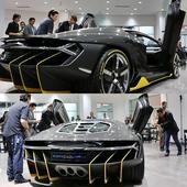 World's Fastest And Rarest Supercar, Lamborghini Centenario Unveiled In Los Angeles