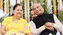 President a source of inspiration for all: Vasundhara Raje