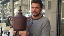 Stan Wawrinka gifted chocolate US Open trophy