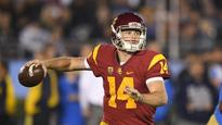 No. 12 USC welcomes struggling Notre Dame for rivalry game (Yahoo Sports)