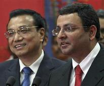 Chinese PM woos Indian investors, Tata boss Mistry says Beijing key for growth