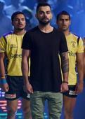 Virat, Bollywood stars attend Pro Kabaddi League