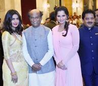 Sania, Udit Narayan, Rajinikanth, Priya... Sania, Udit Narayan, Rajinikanth, Priyanka honoured with Padma awards