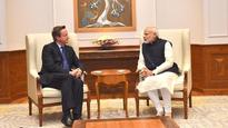 When PM Modi's old friend David Cameron dropped by