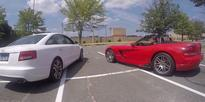 Listen to the Audi A6 and the Dodge Viper Have a V10-Off