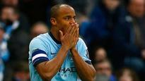 Vincent Kompany feels no pressure to win back Manchester City spot
