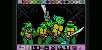 Artist Remakes the Classic 'Teenage Mutant Ninja Turtles' Intro with Mario Paint