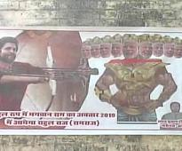 FIR against Amethi Cong leader for portraying Modi as Ravana in a poster