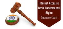 Right To Internet Access Is A Fundamental Right Of Every Indian; Cannot Be Allowed To Curtail: Supreme Court