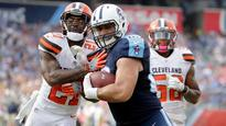 Mariota throws 3 TDs as Titans hold off Browns