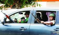 Gunfire breaks out ahead of talks on…