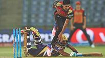 Sunrisers Hyderabad eliminate KKR