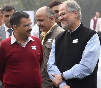 Delhi L-G Najeeb Jung quits; Kejriwal calls it surprising