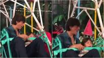 WATCH: This video of Shah Rukh Khan and AbRam on a ferris wheel at Aaradhya Bachchan's birthday bash is PRICELESS!