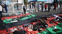 IS claims Kabul blasts, 80 dead