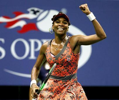 Evergreen Venus sets up all-American semi at US Open