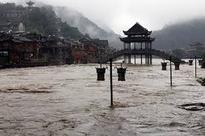 Heavy floods kill several in China's Hunan province