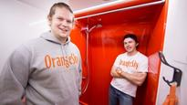 Orange Sky mobile laundry duo plan to shower city's homeless
