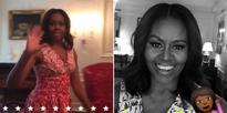 Michelle Obama Got A Snapchat And James Corden Already Made An Epic Cameo