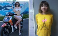 Suspect in Kim Jong-nam assassination posed in flowery bikini at motor show