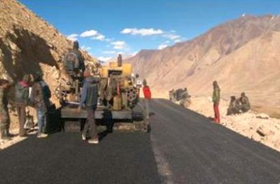 At 19,300 feet, BRO builds world's highest motorable road in Ladakh